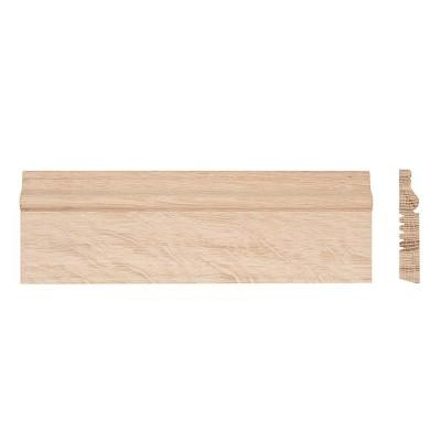 Poza plinta din lemn masiv stejar